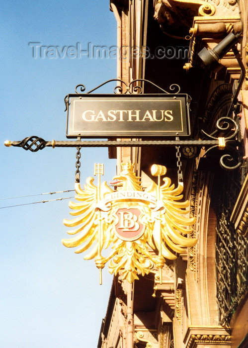 germany195: Germany / Deutschland - Frankfurt am Main (Hessen): Binding Brauerei / Binding Brewery's eagle - photo by M.Torres - (c) Travel-Images.com - Stock Photography agency - Image Bank