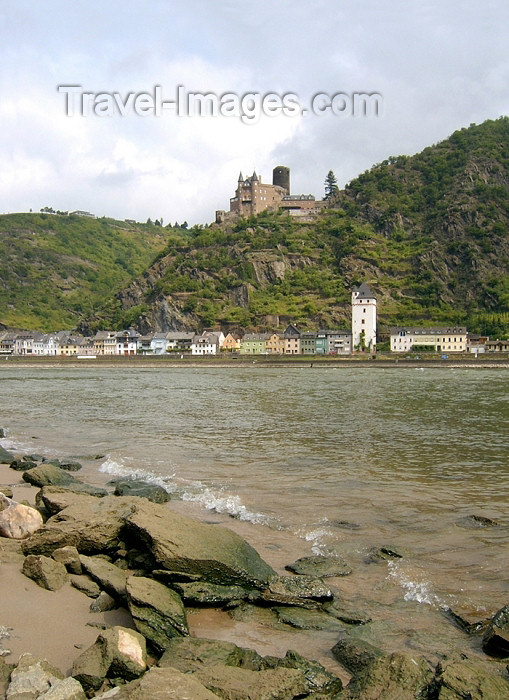 germany220: Germany / Deutschland / Allemagne - Cochem (Rhineland-Palatinate / Rheinland-Pfalz): castle by the Mosel river - photo by Efi Keren - (c) Travel-Images.com - Stock Photography agency - Image Bank