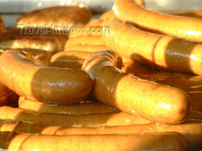 germany228: Germany / Deutschland - Berlin: German sausages - Wursten - German food - photo by M.Bergsma - (c) Travel-Images.com - Stock Photography agency - Image Bank