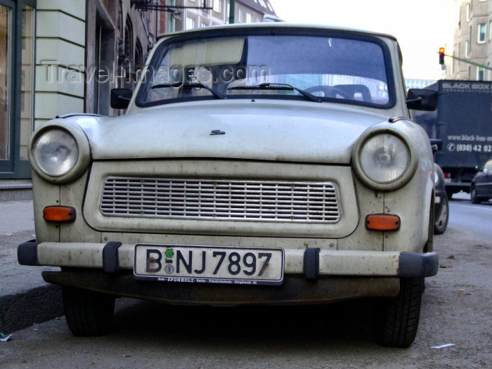 germany241: Berlin, Germany / Deutschland: DDR's Trabant still active - car - photo by M.Bergsma - (c) Travel-Images.com - Stock Photography agency - Image Bank