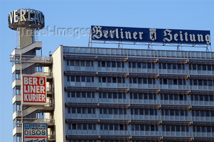 germany270: Germany - Berlin: Berliner Zeitung building / editorial,house, Newspaper, Paper, publishing - photo by W.Schmidt - (c) Travel-Images.com - Stock Photography agency - Image Bank