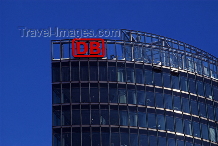 germany280: Germany - Berlin: DB - Deutsche Bahn AG - German Railroad Headquarters - architect Helmut Jahn - Potsdamer Platz - photo by W.Schmidt - (c) Travel-Images.com - Stock Photography agency - Image Bank
