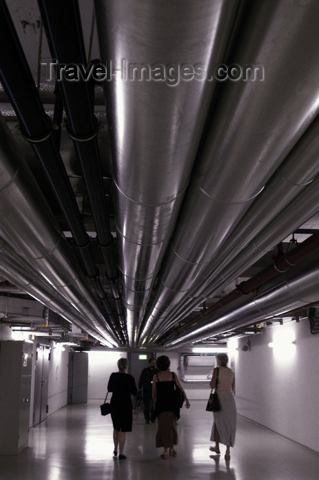 germany281: Germany - Berlin: Reichstag - heating tubes in the basement / AVAC - Bundestag, cellar - photo by W.Schmidt - (c) Travel-Images.com - Stock Photography agency - Image Bank