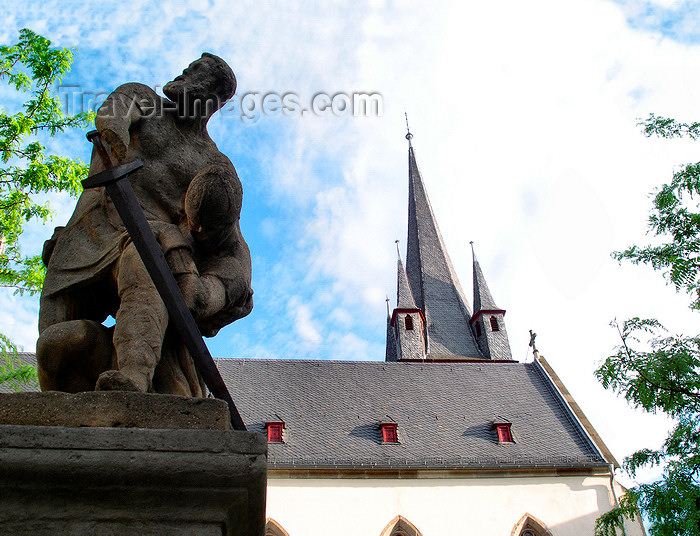 germany295: Bad Kreuznach - Rhineland-Palatinate / Rheinland-Pfalz, Germany / Deutschland: monument on Eiermarkt - photo by Efi Keren - (c) Travel-Images.com - Stock Photography agency - Image Bank