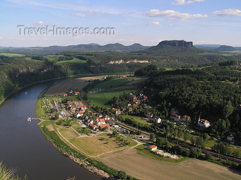germany302: Germany - Saxony - Elbe river - Sachsische Schweiz - photo by J.Kaman - (c) Travel-Images.com - Stock Photography agency - Image Bank