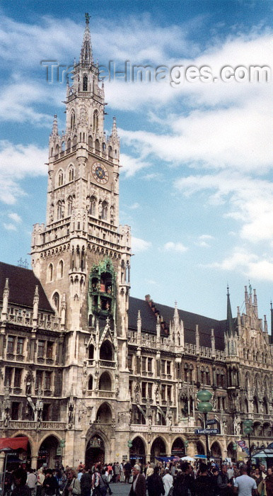 germany33: Germany - Bavaria - Munich / München: Town-Hall - Rathaus - Marienplatz (photo by M.Torres) - (c) Travel-Images.com - Stock Photography agency - Image Bank