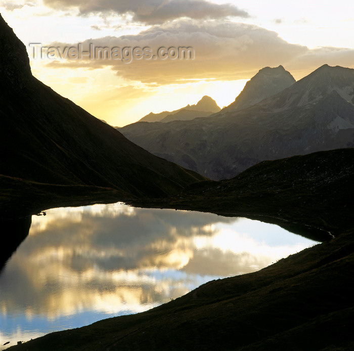 germany339: Germany - Oberstdorf, Allgäu region, Swabia, Bavaria: sunset over the Rappensee lake - seen from the Rappenseehütte Alpine hut - Allgäu region of the Bavarian Alps - photo by W.Allgower - (c) Travel-Images.com - Stock Photography agency - Image Bank