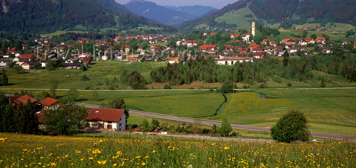 germany341: Germany - Pfronten, Allgäu region, Swabia, Bavaria: view of the valley - Ostallgäu district - photo by W.Allgower - (c) Travel-Images.com - Stock Photography agency - Image Bank