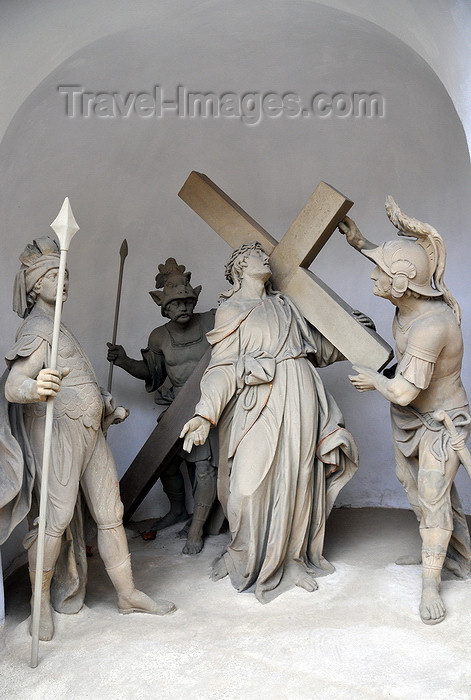 germany345: Würzburg, Lower Franconia, Bavaria, Germany: Käppele - Way of the cross - by P.Wagner - photo by M.Torres - (c) Travel-Images.com - Stock Photography agency - Image Bank
