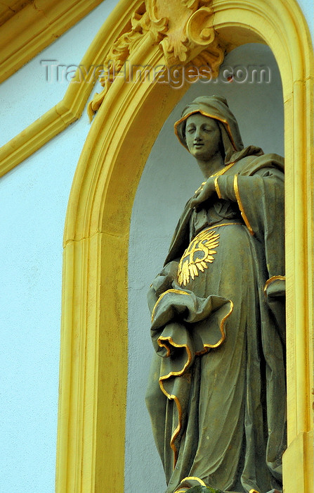 germany347: Würzburg, Lower Franconia, Bavaria, Germany: Käppele - a pregnant Virgin - photo by M.Torres - (c) Travel-Images.com - Stock Photography agency - Image Bank