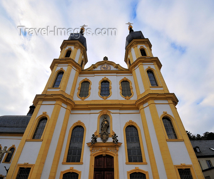 germany348: Würzburg, Lower Franconia, Bavaria, Germany: Käppele - façade - pilgrimage church built by Neumann - photo by M.Torres - (c) Travel-Images.com - Stock Photography agency - Image Bank
