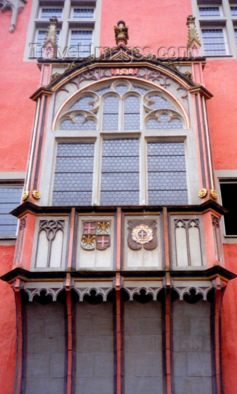 germany53: Germany / Deutschland - Koblenz (Rhineland-Palatinate / Rheinland-Pfalz): oriel window - Gothic architecture - photo by M.Torres - (c) Travel-Images.com - Stock Photography agency - Image Bank