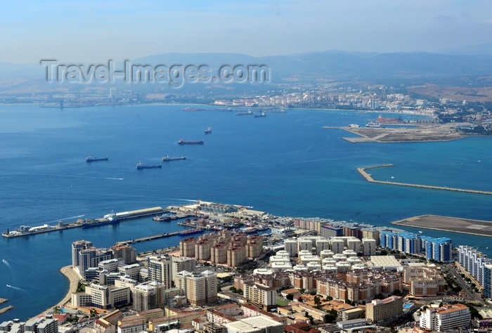 gibraltar48: Gibraltar: Reclamation Areas, Bay of Algeciras - photo by M.Torres - (c) Travel-Images.com - Stock Photography agency - Image Bank