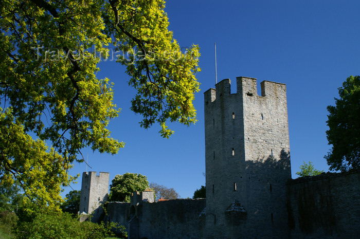 gotland84: Gotland - Visby: northern wall - ringwall - photo by A.Ferrari - (c) Travel-Images.com - Stock Photography agency - Image Bank