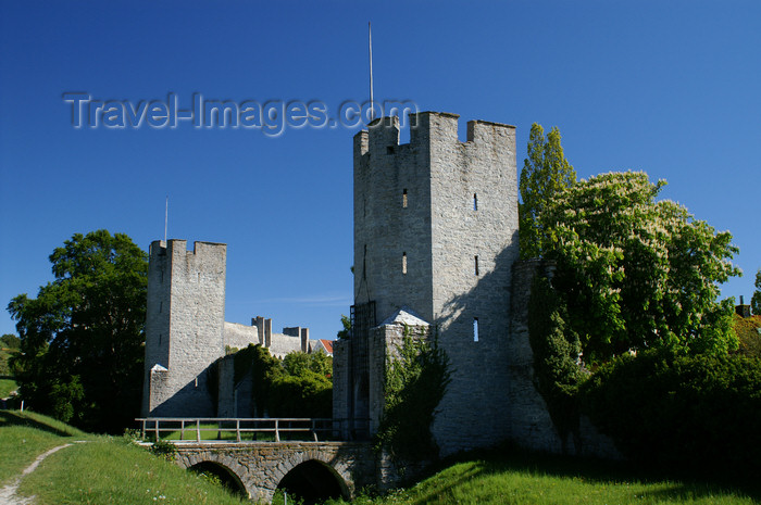 gotland85: Gotland - Visby: gate on the northern wall - ringwall - photo by A.Ferrari - (c) Travel-Images.com - Stock Photography agency - Image Bank