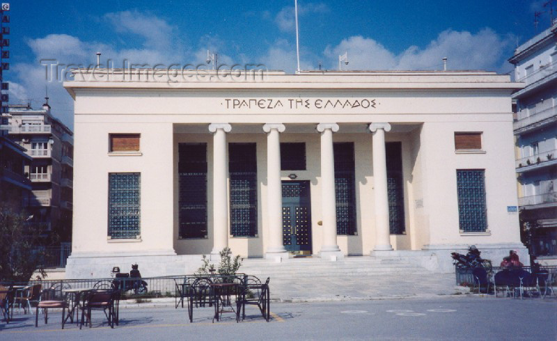 greece104: Greece - Volos (Thessalia): bank (photo by Miguel Torres) - (c) Travel-Images.com - Stock Photography agency - Image Bank