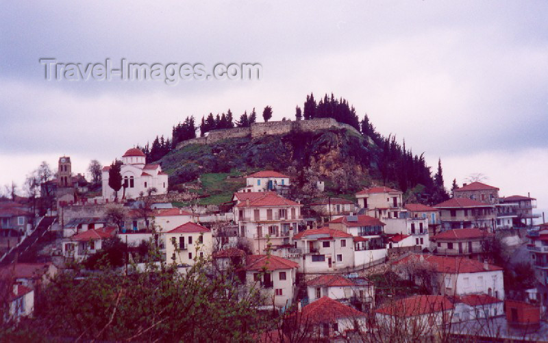 greece120: Greece - Karditsa (Thessalia): on the slopes (photo by Miguel Torres) - (c) Travel-Images.com - Stock Photography agency - Image Bank