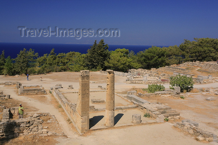 greece209: Greece - Rhodes island - Kameiros - in the acropolis - photo by A.Stepanenko - (c) Travel-Images.com - Stock Photography agency - Image Bank