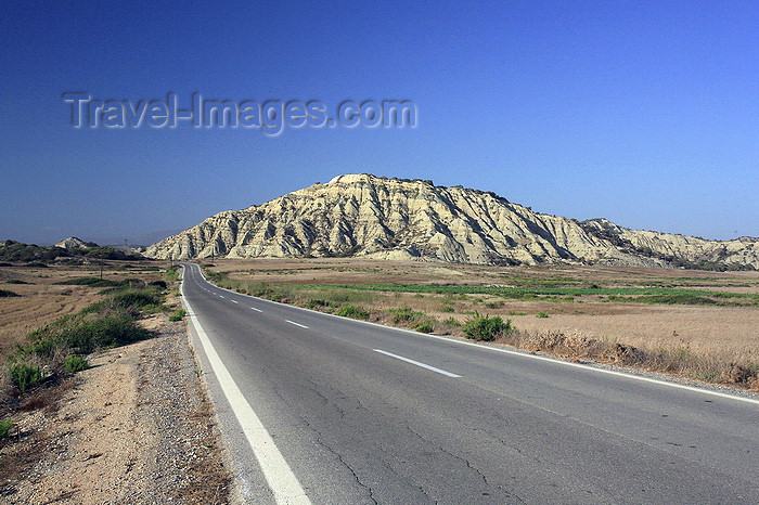 greece451: Greece - Rhodes island - Kattavia - on the road - photo by A.Stepanenko - (c) Travel-Images.com - Stock Photography agency - Image Bank
