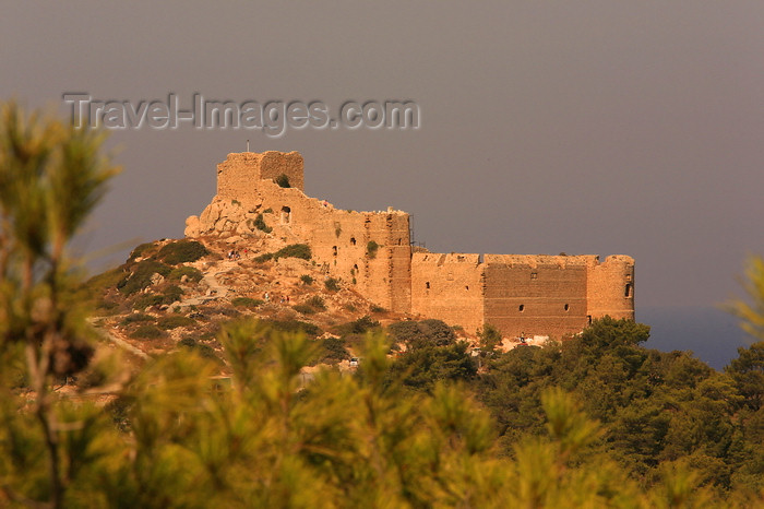 greece452: Greece - Rhodes island - Kritinia - castle - photo by A.Stepanenko - (c) Travel-Images.com - Stock Photography agency - Image Bank