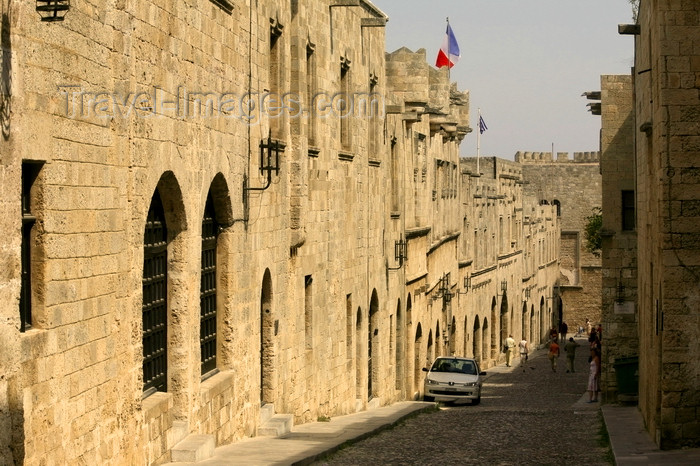 greece467: Greece - Rhodes island - Rhodes city - Street of Knights - photo by A.Stepanenko - (c) Travel-Images.com - Stock Photography agency - Image Bank