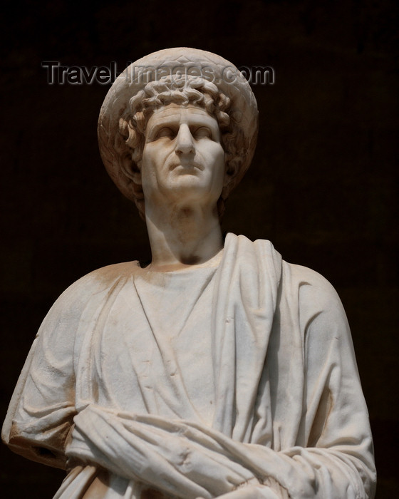 greece471: Greece - Rhodes island - Rhodes city - Grand Masters Palace - Hellenistic statue - photo by A.Stepanenko - (c) Travel-Images.com - Stock Photography agency - Image Bank