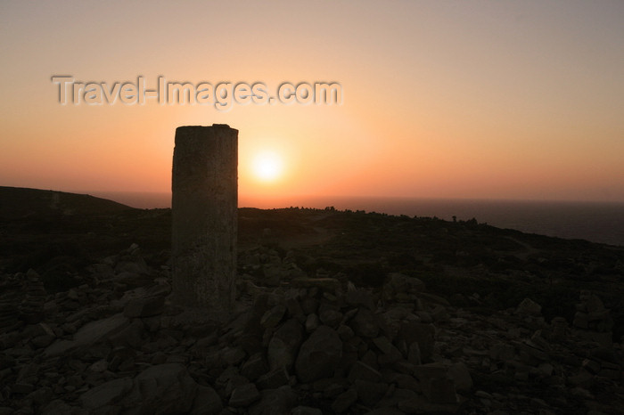 greece474: Greece - Rhodes island - Prasonisi cape - sun and ruins - photo by A.Stepanenko - (c) Travel-Images.com - Stock Photography agency - Image Bank