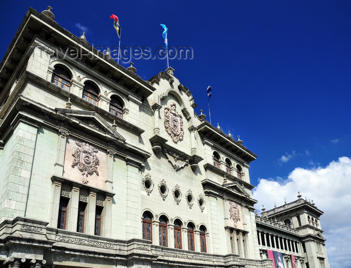 guatemala107: Ciudad de Guatemala / Guatemala city: National Palace of Culture - commissioned by President Jorge Ubico - Central Park - photo by M.Torres - (c) Travel-Images.com - Stock Photography agency - Image Bank