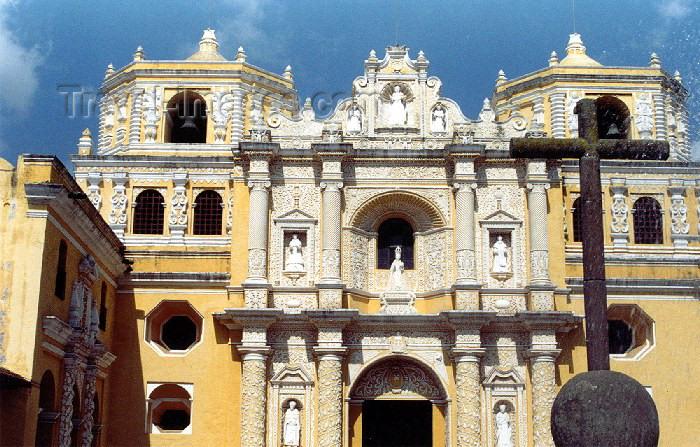 guatemala17: Guatemala - Antigua Guatemala: La Merced church / Iglesia La Merced, Antigua Guatemala - Unesco world heritage site (photographer: Hector Roldán) - (c) Travel-Images.com - Stock Photography agency - Image Bank