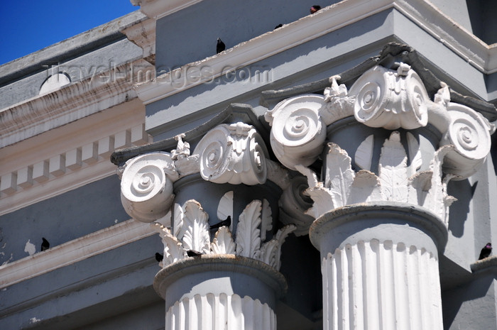 guatemala81: Ciudad de Guatemala / Guatemala city: San Francisco church - columns' detail - capitals - Iglesia de San Francisco - photo by M.Torres - (c) Travel-Images.com - Stock Photography agency - Image Bank