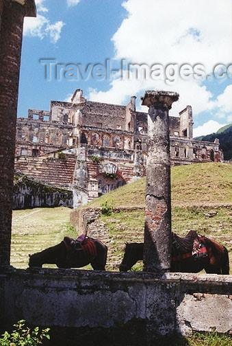 haiti17: Haiti - Milot, Cap-Haitien: Sans Souci Palace - Henri Christophe's residence - National History Park - UNESCO World Heritage Site - photo by G.Frysinger - (c) Travel-Images.com - Stock Photography agency - Image Bank