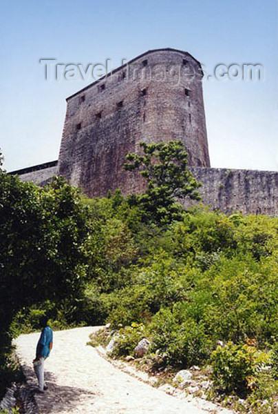 haiti18: Haiti - Milot, Cap-Haïtien: Citadelle Laferrière- Henri Christophe's citadel - mountaintop fortress - UNESCO World Heritage Site - photo by G.Frysinger - (c) Travel-Images.com - Stock Photography agency - Image Bank
