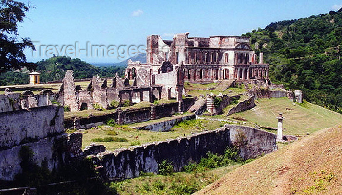 haiti26: Haiti - Milot, Cap-Haitien: Sans Souci Palace - top view of the ruins - UNESCO World Heritage Site - photo by G.Frysinger - (c) Travel-Images.com - Stock Photography agency - Image Bank