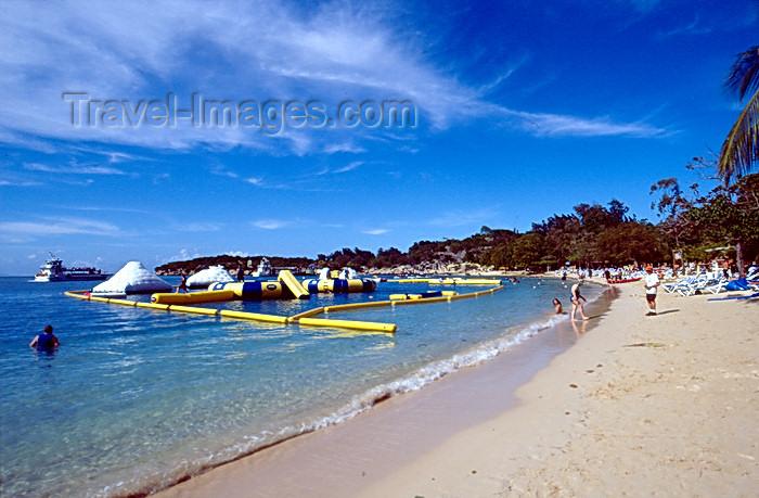 haiti34: Haiti - Labadee - perfect beach - photo by F.Rigaud - (c) Travel-Images.com - Stock Photography agency - Image Bank