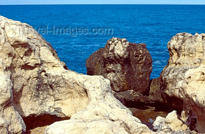 haiti35: Haiti - Labadee - rocks and the sea - photo by F.Rigaud - (c) Travel-Images.com - Stock Photography agency - Image Bank