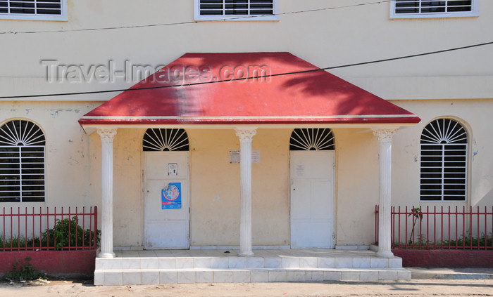 haiti46: Ouanaminthe / Juana Mendez, Nord-Est Department, Haiti: porch of 'Parole de Vie', a Christian organization - photo by M.Torres - (c) Travel-Images.com - Stock Photography agency - Image Bank