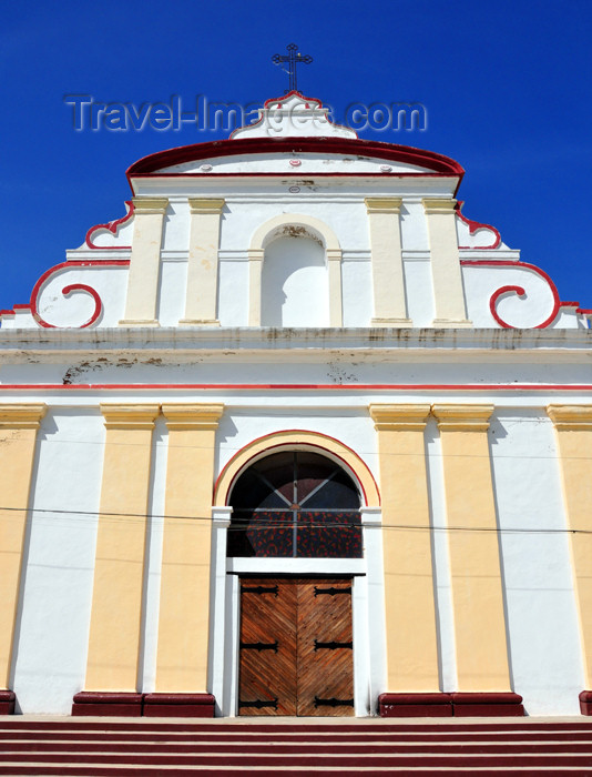 haiti62: Fort-Liberté, Nord-Est Department, Haiti: colonial façade of the Cathedral of St Joseph - Place d'Armes - photo by M.Torres - (c) Travel-Images.com - Stock Photography agency - Image Bank