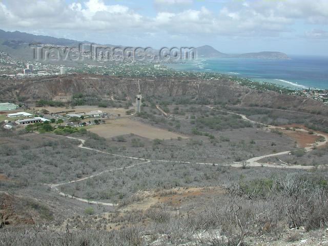 hawaii27: Oahu island - Diamondhead crater - photo by P.Soter - (c) Travel-Images.com - Stock Photography agency - Image Bank