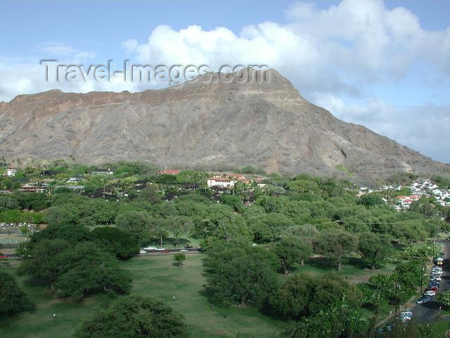 hawaii29: Oahu island - Diamond head - photo by P.Soter - (c) Travel-Images.com - Stock Photography agency - Image Bank