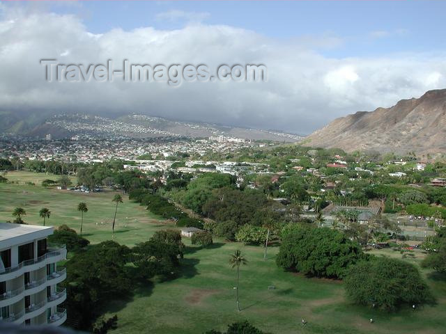 hawaii30: Oahu island - Honolulu: Punch Bowl - photo by P.Soter - (c) Travel-Images.com - Stock Photography agency - Image Bank