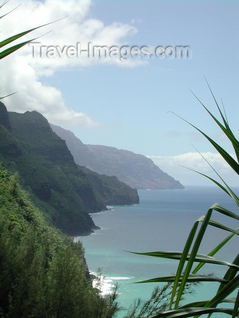 hawaii35: Hawaii - Kauai island: Ne Pali Coast - photo by P.Soter - (c) Travel-Images.com - Stock Photography agency - Image Bank