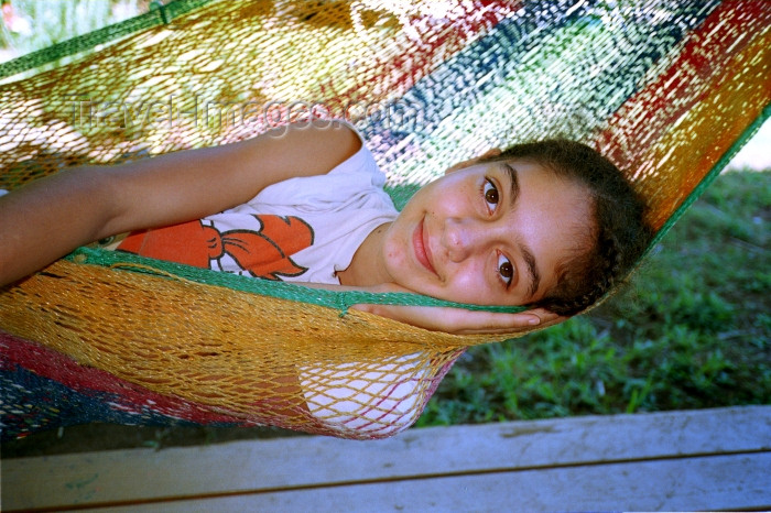 hawaii77: Hawaii - Maui island: girl resting in a hammock - Photo by G.Friedman - (c) Travel-Images.com - Stock Photography agency - Image Bank