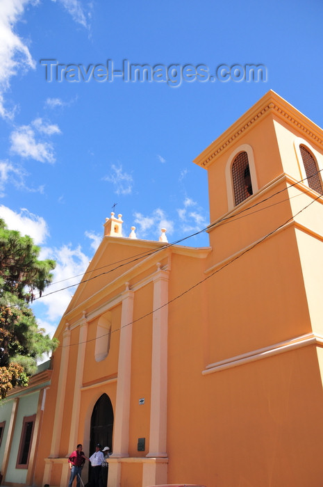 honduras23: Tegucigalpa, Honduras: Church of St. Francis - Iglesia de San Francisco - the oldest church in Tegus - Parque Valle - photo by M.Torres - (c) Travel-Images.com - Stock Photography agency - Image Bank