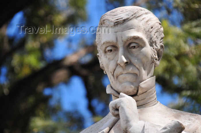 honduras25: Tegucigalpa, Honduras: Parque Valle - statue of Don José Cecilio del Valle, philosopher - author of the Central American declaration of independence - filósofo, redactor del Acta de Independencia de Centro América - photo by M.Torres - (c) Travel-Images.com - Stock Photography agency - Image Bank