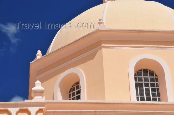 honduras7: Tegucigalpa, Honduras: Metropolitan Cathedral - dome and sky - Catedral de San Miguel - photo by M.Torres - (c) Travel-Images.com - Stock Photography agency - Image Bank