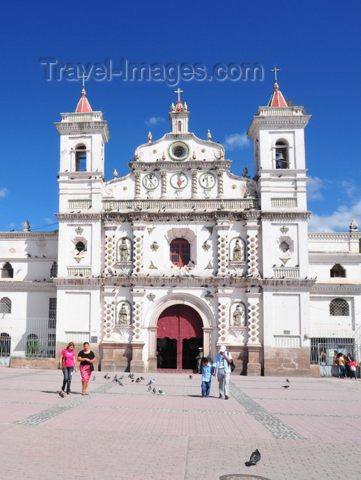 honduras75: Tegucigalpa, Honduras: Dolores church - iglesia de la Virgen de los Dolores - estilo barroco - photo by M.Torres - (c) Travel-Images.com - Stock Photography agency - Image Bank