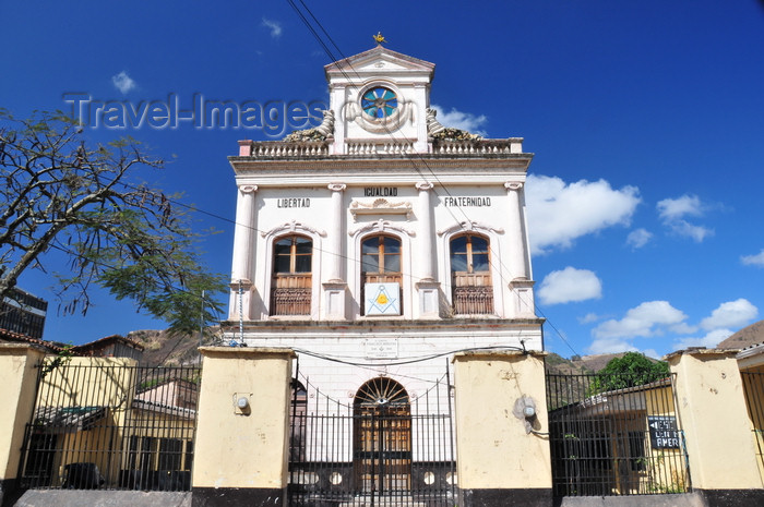 honduras78: Tegucigalpa, Honduras: Masonic lodge - Logia Masónica Igualdad Nº1 - Calle Morelos del Barrio Abajo - photo by M.Torres - (c) Travel-Images.com - Stock Photography agency - Image Bank