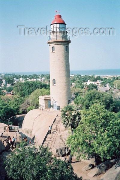 india193: India - Mahabalipuram: lighthouse (photo by J.Kaman) - (c) Travel-Images.com - Stock Photography agency - Image Bank