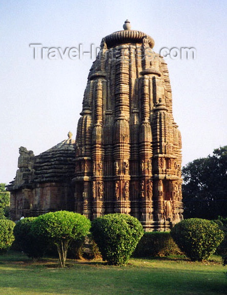 india222: India - Bhubaneswar, Orissa: Parasurameswar temple - Kalinga School of temple architecture - built in 650 AD - dedicated to Lord Shiva - photo by G.Frysinger - (c) Travel-Images.com - Stock Photography agency - Image Bank
