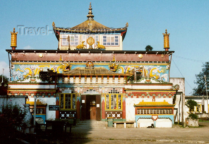 india269: India - Darjeeling (West Bengal): Ghoom Monastery - Yiga Choeling Buddhist Monastery - photo by J.Kaman - (c) Travel-Images.com - Stock Photography agency - Image Bank